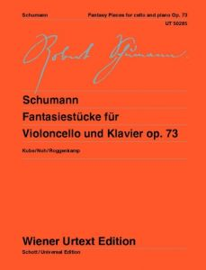 SCHUMANN, ROBERT - Fantasiestücke - Fantasy Pieces for Cello and piano - nuty na for Cello and piano - Wiener Urtext - UT50285