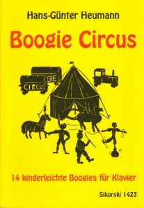 HEUMANN, HANS-GUNTER - Boogie Circus - 14 very easy Boogies - for Piano - nuty na fortepian - Sikorski Musikverlage - SIK1423