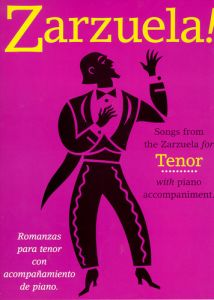 Zarzuela - Songs from the Zarzuela - nuty na tenor i fortepian - Union Musical Espanola - UMV24385