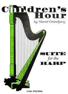GRANDJANY, MARCEL - Children's Hour op.25 - for Harp - nuty na harfę - Carl Fischer Distribution - O4651