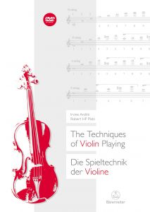 ARDITTI, IRVINE -  The Techniques of Violin Playing (+DVD) - na skrzypce - Bärenreiter Verlag - BVK2267