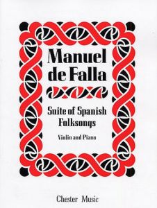 FALLA, MANUEL DE - Suite of Spanish Folksongs - nuty na skrzypce i fortepian - J. & W. Chester - CH00430