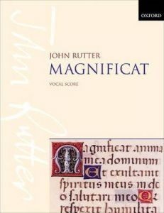 RUTTER, JOHN - Magnificat - for mixed Choir - Vocal Score - wyciąg fortepianowy - Oxford University Press - 9780193380370