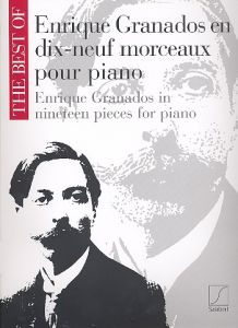 GRANADOS, ENRIQUE  - The Best of Granados in 19 pieces - for Piano - nuty na fortepian - Salabert - SLB5789