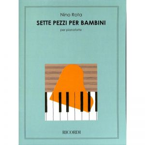 ROTA, NINO - 7 Pieces for Children - for Piano - nuty na fortepian - Ricordi Milano - NR133342