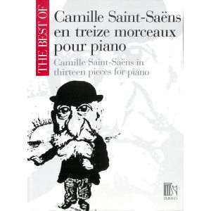SAINT-SAENS, CAMILLE - Camille Saint Saens in 13 Pieces - for Piano - nuty na fortepian - Durand - DF15641