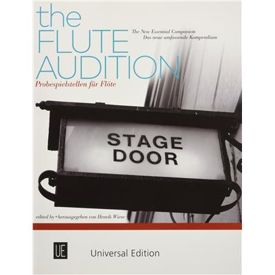 The Flute Audition - for Flute - nuty na flet - ed. Henrik Wiese - Universal Edition - UE36419