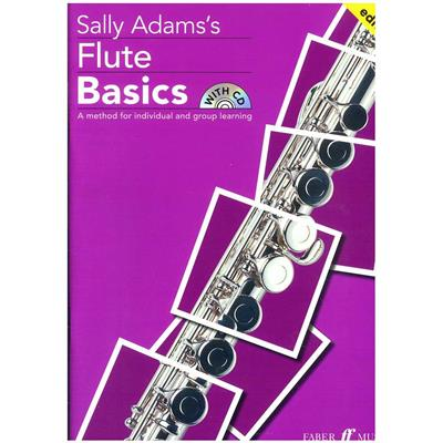 ADAMS, SALLY - Flute Basics (+CD) - A Method for Individual and Group Learning - nuty na flet - Faber Music - 057152284X