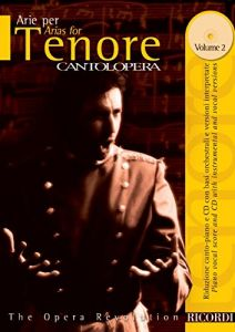 CANTOLOPERA: Arias Vol.2 - for Tenor (+CD) - Ricordi Milano - NR 138824