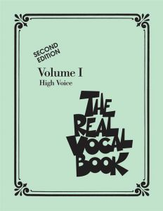 The Real Vocal Book - Vol.1 - for High Voice - C Edition - nuty na głos wysoki - Hal Leonard - HL00240230